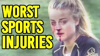 8 More Worst Sports Injuries Caught On Live Tv