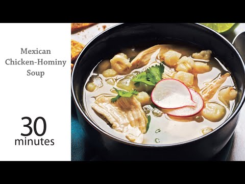 How to Make Mexican Chicken Hominy Soup