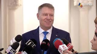 Iohannis: Rămân la opinia mea, primarii să fie aleși în două tururi