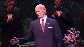 Joe Biden Hall-of-Presidents Robot Malfunction