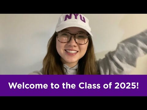 NYU Steinhardt Students Welcome the Class of 2025 - YouTube