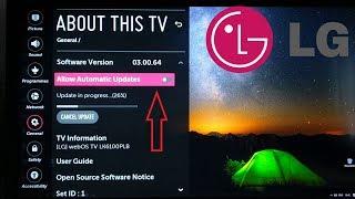 How To Update Lg Tv Firmware ฟรวดโอออนไลน ดทวออนไลน