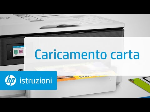 Caricamento carta | Stampanti per grandi formati HP OfficeJet Pro 7720/7730/7740 AIO | HP