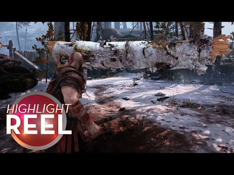 Highlight Reel #391 – Maybe Kratos Isn't That Strong