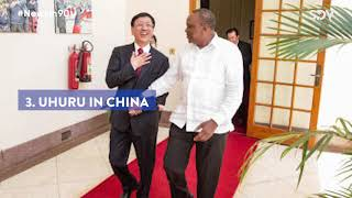Uhuru in China to lobby for SGR extension funds, Parliament blacklists Huduma Namba firm |#NewsIn90
