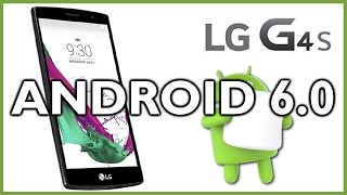 LG G4s Beat - Install Official Android 6.0 via Update Center