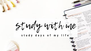 Study days of my life - Study with me + ZenPop stationery unboxing! | studytee