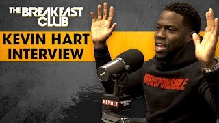 The Breakfast Club - Kevin Hart Lives His Truth And Opens Up About Being Irresponsible And More