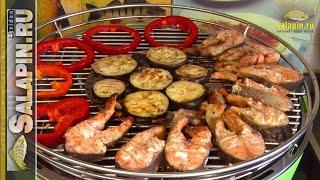 Простой рецепт: рыба на гриле (форель на домашнем гриле) [salapinru]
