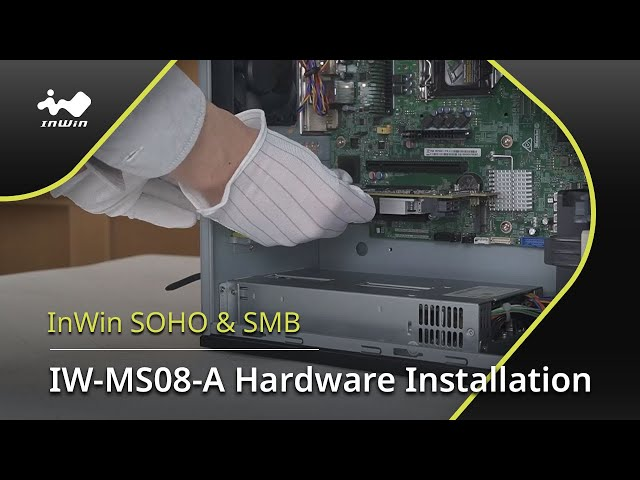 IW-MS08-A Hardware Installation