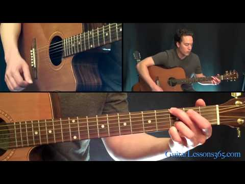 One Guitar Lesson - Easy Guitar Version - U2