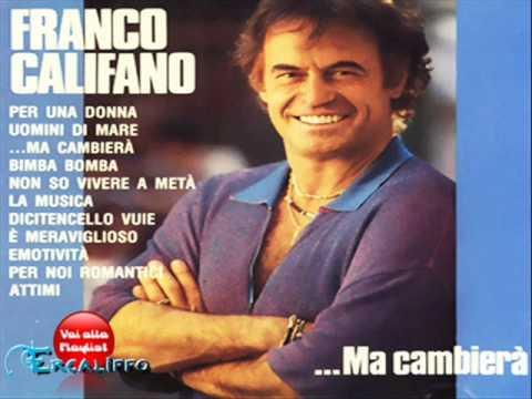 Significato della canzone Non so vivere a metà di Franco Califano