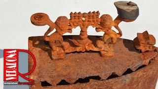 Rusted of antique iron Restoration