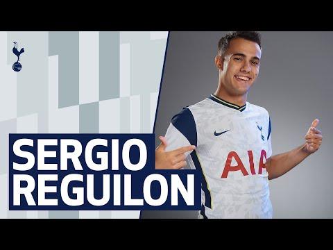 SERGIO REGUILÓN SIGNS FOR TOTTENHAM HOTSPUR | SERGIO'S FIRST SPURS INTERVIEW | #HolaReguilón