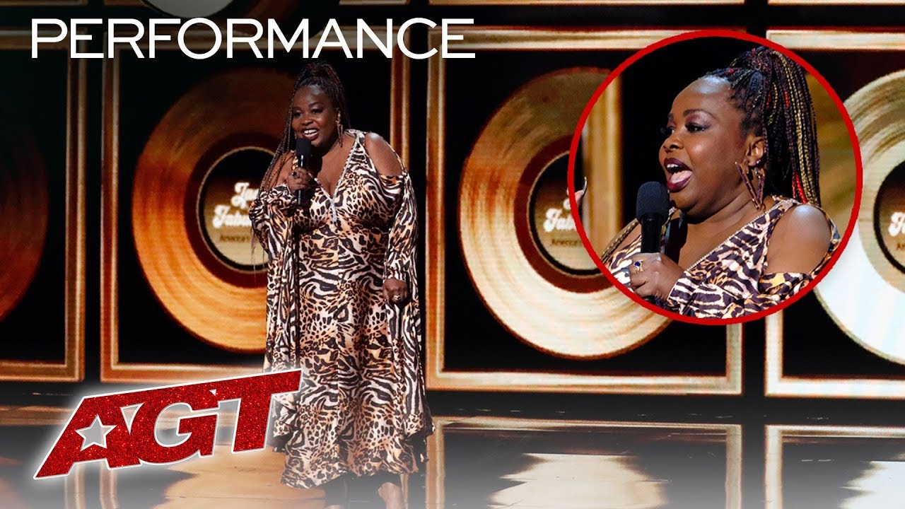 ALL Performances From Jackie Fabulous (FUNNY! Don't Miss This) - America's Got Talent 2019 thumbnail