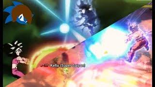 Recreating Anime Moments In Dragon Ball Xenoverse 2 (Ultra Instinct Goku VS Kefla! With Dialogue!)
