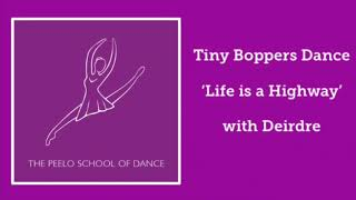 Tiny Boppers Hip Hop Dance 'Life is a Highway' with Deirdre