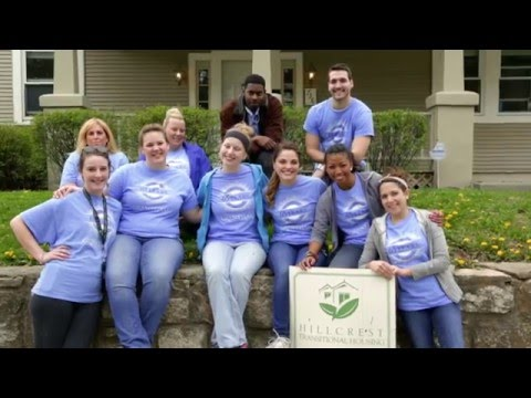 Grantham University Admissions Team Volunteers at Hillcrest Transitional Housing
