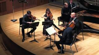 Brahms: Quintet in F minor, Op. 34, Mvt I / ChamberFest Cleveland (2014)