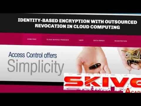 Identity Based Encryption with Outsourced Revocation in Cloud Computing
