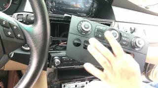 How to install  android system navigation in BMW 5series E60 (keep OEM radio)