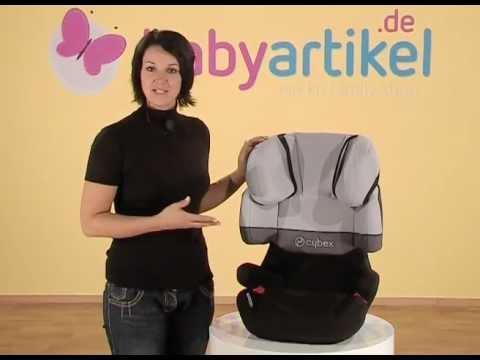 CYBEX Solution X-Fix - Kindersitz Gr. 2/3 | Babyartikel.de