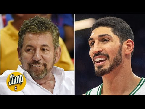 Stop blaming James Dolan all the time for the Knicks' problems – Enes Kanter | The Jump