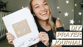 HOW TO MAKE A DIY PRAYER JOURNAL | Grow In Your Prayer Life