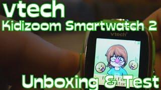 vtech Kidizoom Smartwatch 2 - Unboxing & Test