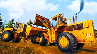 Bigger and Better Gold Mining Machinery - The First Winter Snowfall - Gold Rush The Game