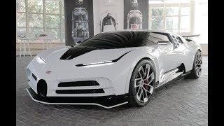 Presentación Bugatti Centodieci