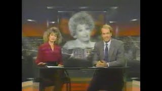 News Of The Death Of Lucille Ball