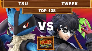 2GG Kongo Saga - TSM | Tweek (Joker) Vs Tsu (Lucario) Top 128 Winners - Smash Ultimate