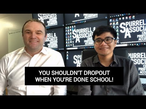 Edmonton Business Coach | Don't Dropout When You're Done School