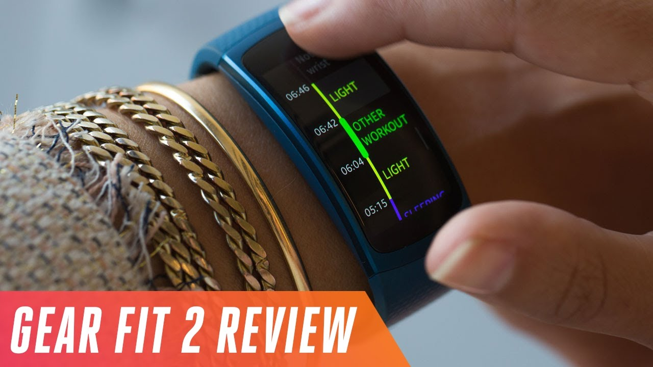 Samsung Gear Fit 2 activity tracker review thumbnail