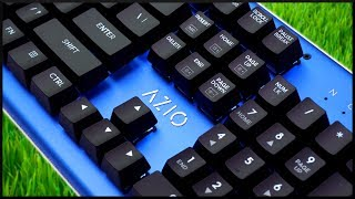 A $50 Blue Aluminum Mechanical Keyboard!