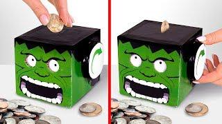 Protege Tu Dinero Haciendo Una Alcancía De Hulk El Terrible