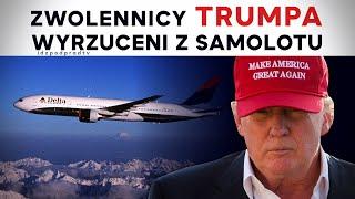 IPP Zwolennicy Trumpa wyrzuceni z samolotu. To początek Prześladowania konserwatystów w USA? 2021.01.11