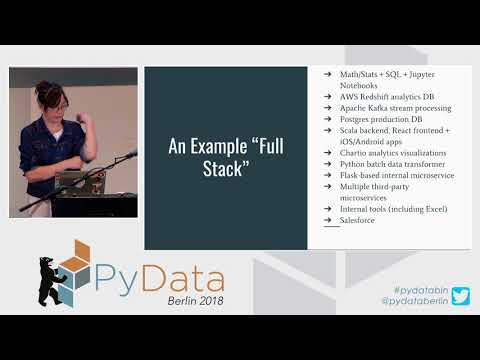 Going Full Stack with Data Science: Using Technical Readiness... - Emily Gorcenski