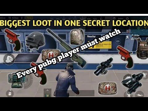 Secret Location on Erangel Map PUBG Mobile [Amazing Loot] Flare Gun