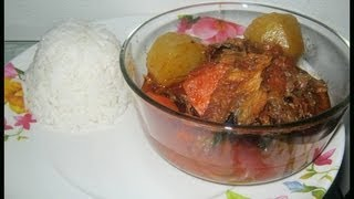 African smoked fish soup – African Food Recipes