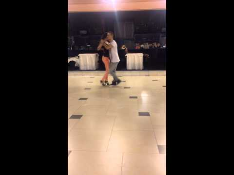Domenico Cinisi & Olga Smiley Bucharest Salsa Congress 2015