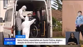 04/05: Especialista em saúde pública elogia atuação do Governo dos Açores no quadro da Pandemia