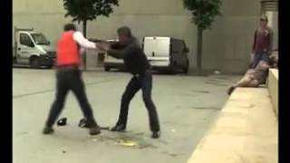 Эпический бой нетрезвых боксеров