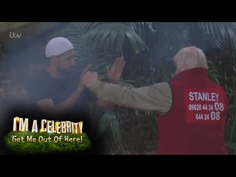 Stanley and Amir: Rumble in the Jungle | I'm A Celebrity...Get Me Out Of Here!