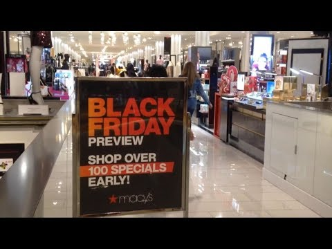 Major retailers offer huge deals and discounts a week before Black Friday