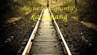 Roel Manlangit - Maghintay Ka Lamang ( Juan Dela Cruz ) With LYRICS