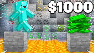 Giving Skeppy $1000 if He Wins... - Minecraft Challenge