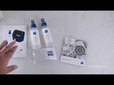 The Best Lens Cleaning Fluid : ZEISS Unboxing Indonesia