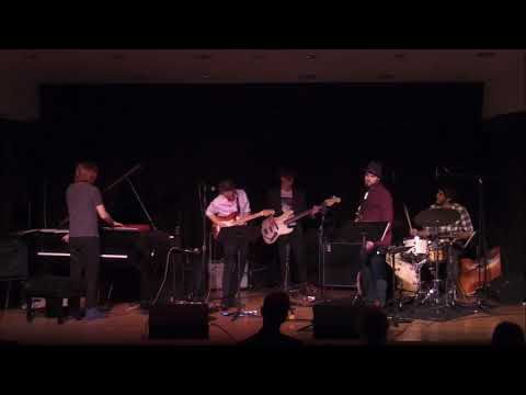 "MY BAND ""CASTLE HILL"" PERFORMING MY SONG ""TREE LINE""."